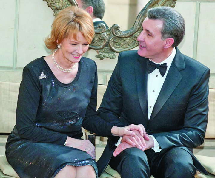 Principesa Margareta si Principele Radu Palatul Elisabeta 20131 Principesa Margareta si Radu Duda, Altete Regale pe banii nostri