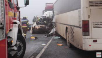 acci 350x199 Trei romani au pierit in urma unui accident, in Ungaria (VIDEO)