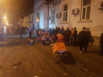 accid 2 350x262 Doi tineri au murit langa sediul ISU din Constanta