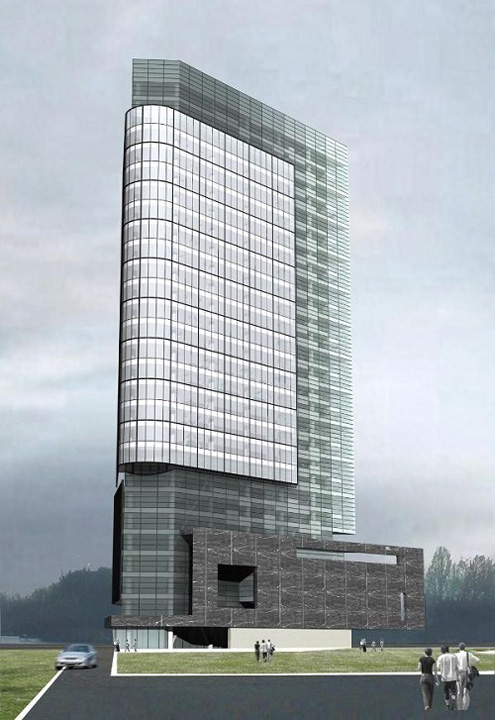 ana tower1 Copos ridica un zgarie nori pentru birouri