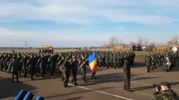 antrenament parada 350x196 Imagini de la primele repetitii pentru Parada militara de 1 decembrie din acest an