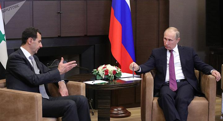 assad putin Putin si Assad isi dau mana peste 300.000 de morti