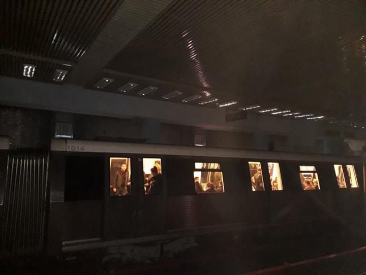 bezna metrou Nordul Bucurestilor, paralizat de o majora pana de curent