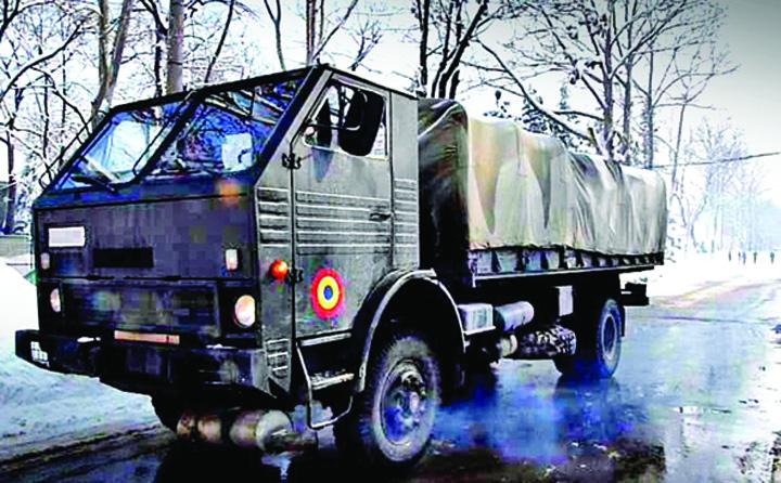 camion iarna Avem rachete, ne mai trebuie anvelope de iarna!