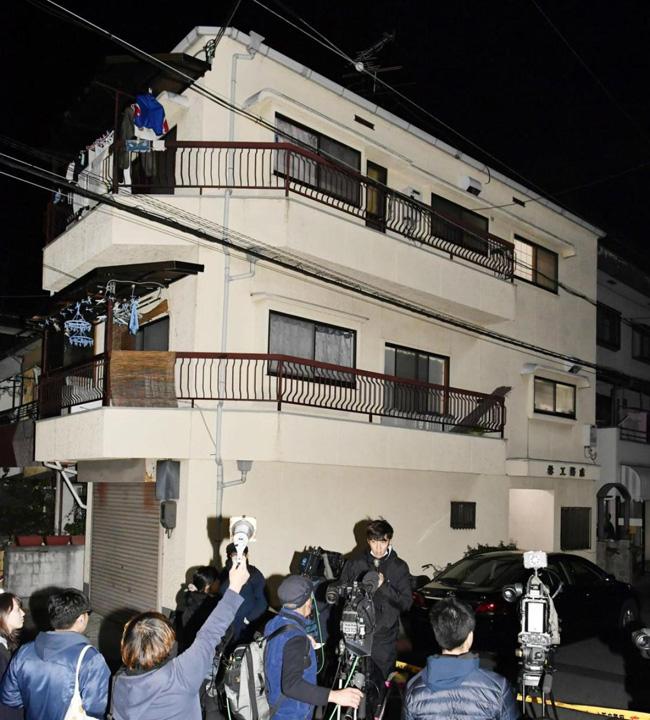 casa japonia Si a turnat copiii in beton