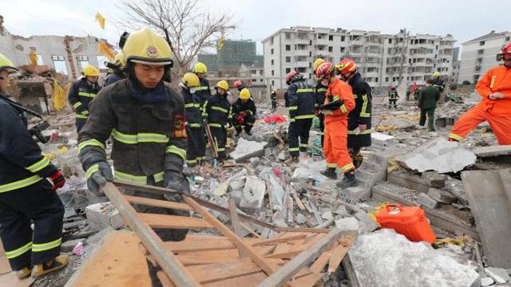 china Explozie uriasa in China