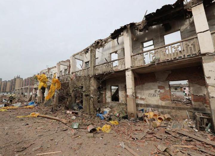 china1 Explozie uriasa in China