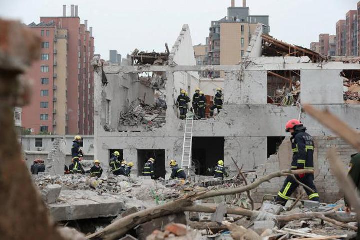 china4 Explozie uriasa in China