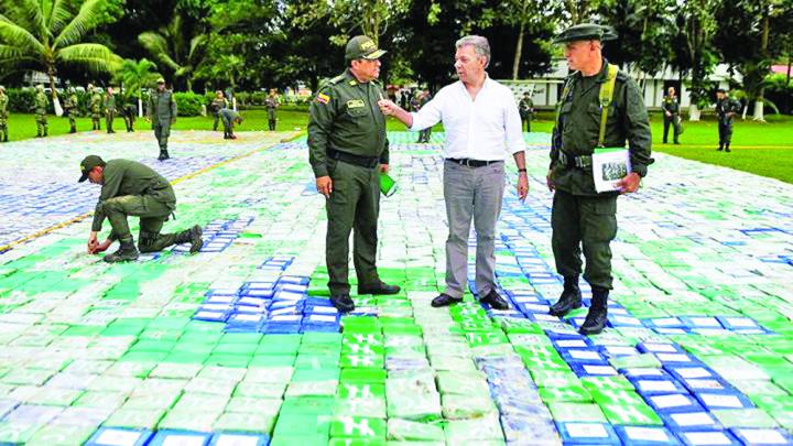 columbia Au capturat mama cocainei