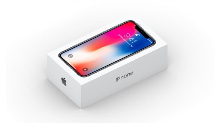 cutie iPhone X Un roman vinde o cutie de iPhone X. Noua si goala!