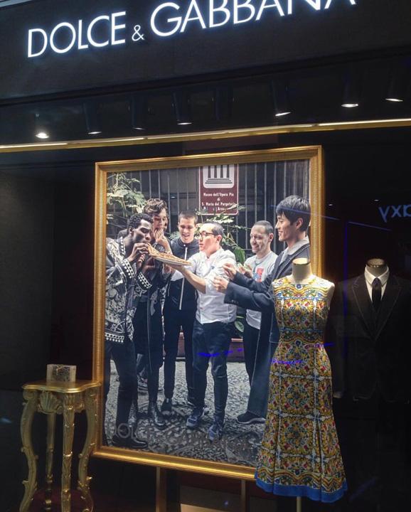 dolce 3 Dolce & Gabbana trec pe macaroane!