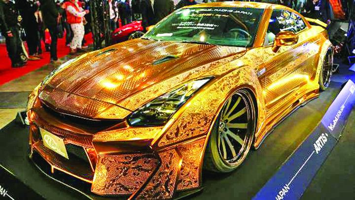 gold 1 Gold, o maşină de aur