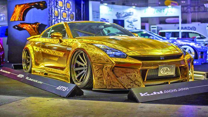 gold 2 Gold, o maşină de aur