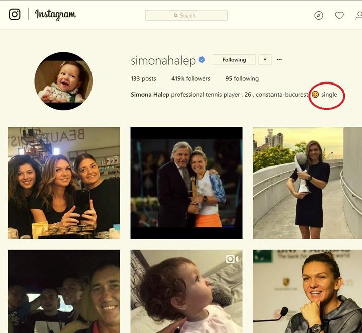"""halep 1 Simona Halep se da """"single"""""""