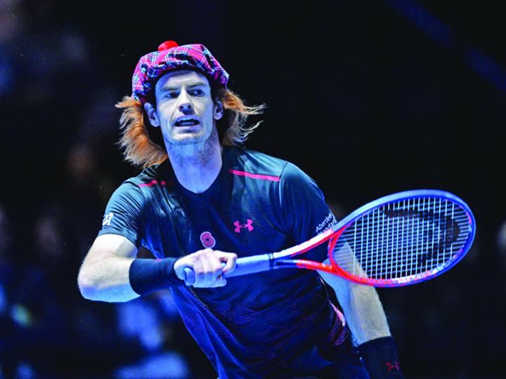 kilt 2 Roger Federer, tenis in fusta!