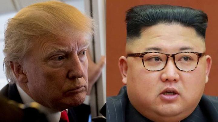 "kim Trump, ""batran"", Kim jong un, ""mic si gras"""