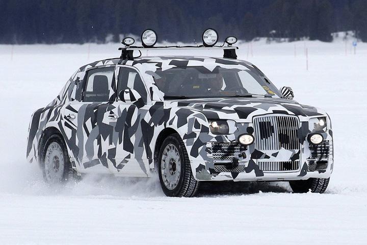 limo mare Teste top secret pentru limuzina lui Putin
