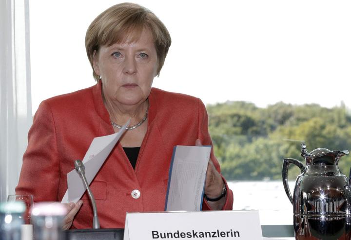 merkel Merkel, pe faras