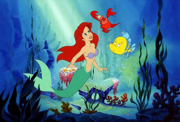 mica sirena Basmele Disney, in realitate povesti de groaza