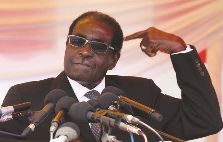 mugabe 2 Mugabe s a scos