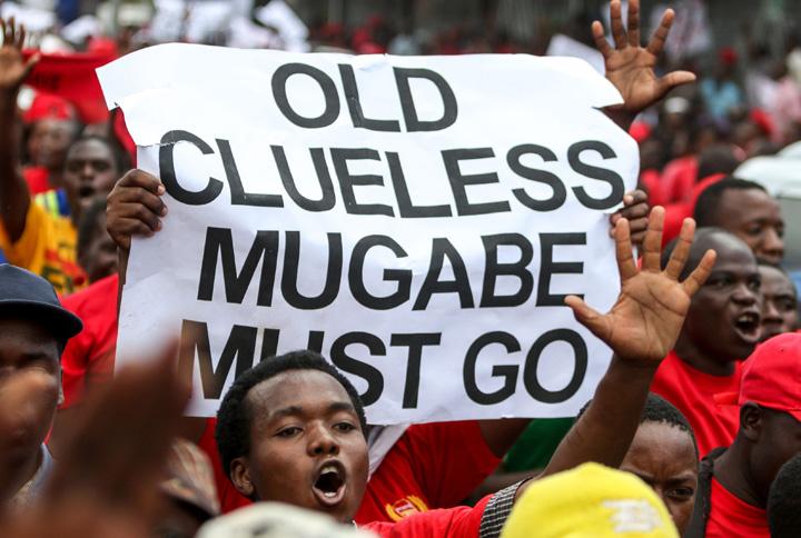 mugabe mare Pleaca, Mugabe!
