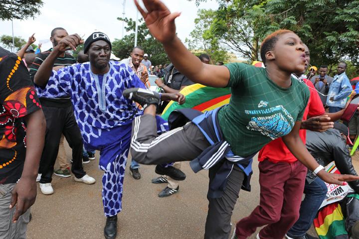 mugabe1 Pleaca, Mugabe!