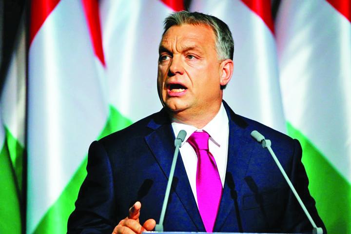 orban Orban nu l lasa din catare pe Soros