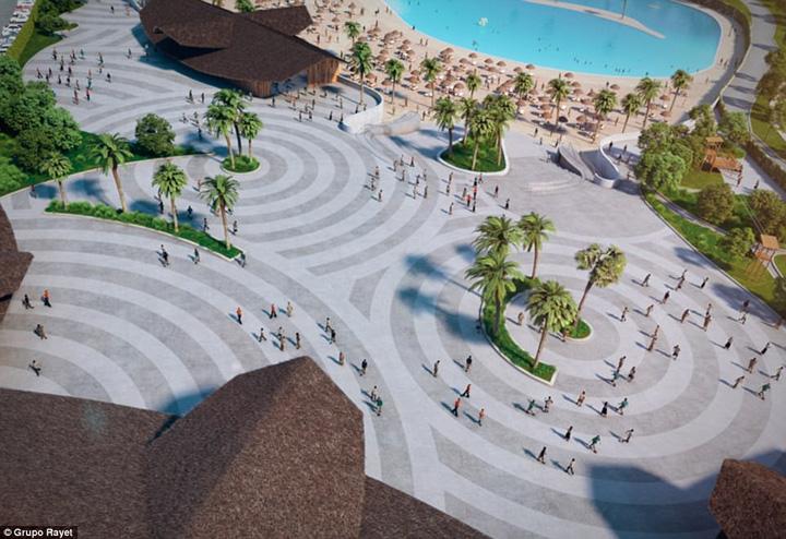 plaja 2 Cea mai mare plaja artificiala din Europa