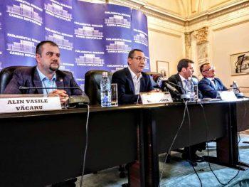 ponta partid 350x263 Ponta: La conducerea Camerei Deputatilor sa vina altcineva