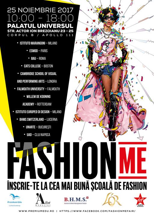 poster fashion A2 1 Premiera in Romania: primul targ educational de moda