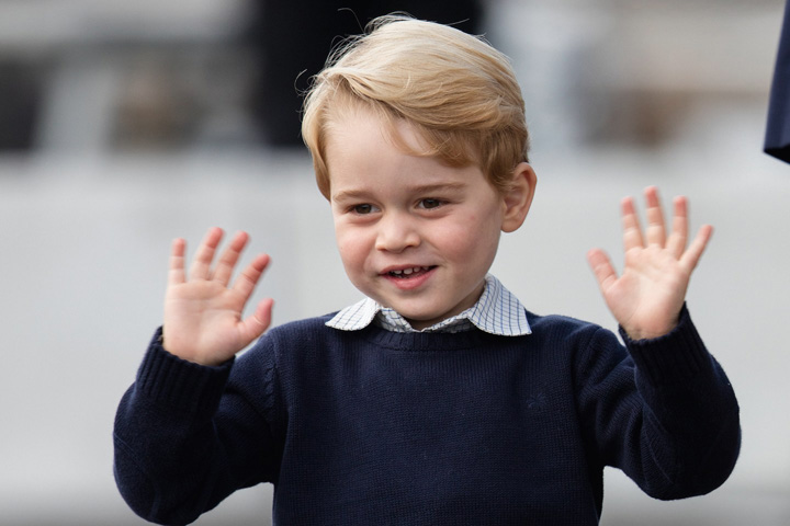 prince george presents early ISIS a pus ochii pe prinţul George