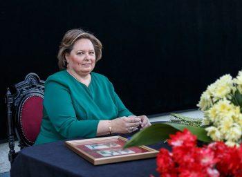 principesa sofia 350x256 Principesa Sofia a ajuns in Elvetia, pentru a i fi alaturi Regelui Mihai