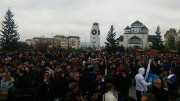 protest 350x197 Protest de amploare la Mioveni