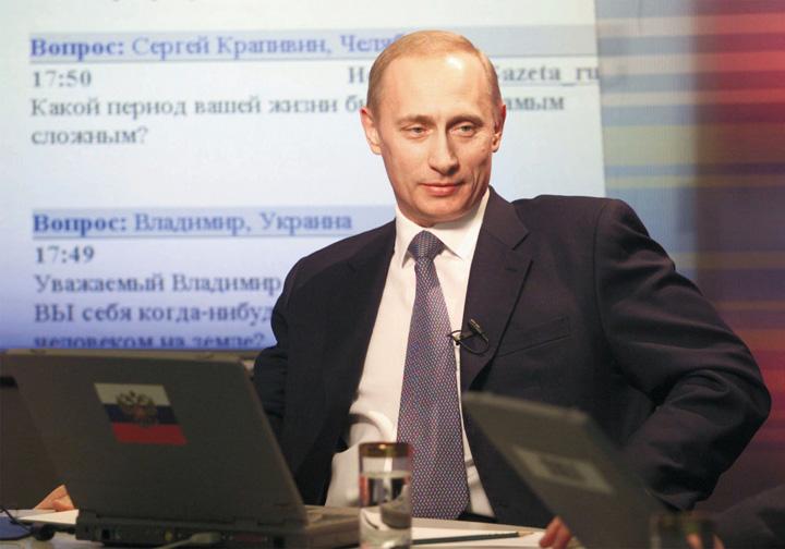 putin mare NATO, praf in fata Rusiei