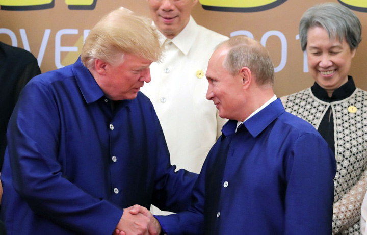 "putin trump Trump, ""batran"", Kim jong un, ""mic si gras"""