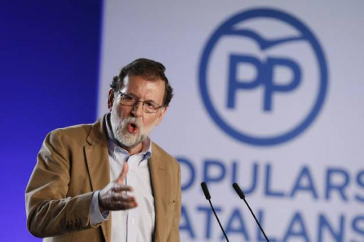 rajoy Premierul Spaniei a venit in gura lupului catalan