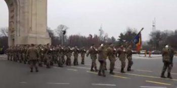 repetitie 350x175 Imagini de la repetitia generala pentru parada militara de 1 decembrie (VIDEO)