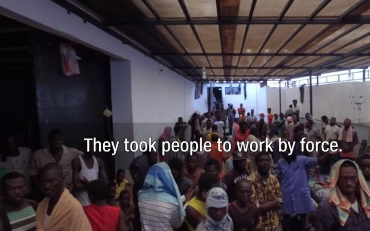 sclavi 1 Targ de sclavi in Libia