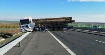 tir 350x184 Incident cu un TIR pe Autostrada Soarelui