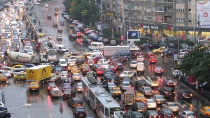 trafic Petrecem 9 zile pe an in blocajele din Capitala