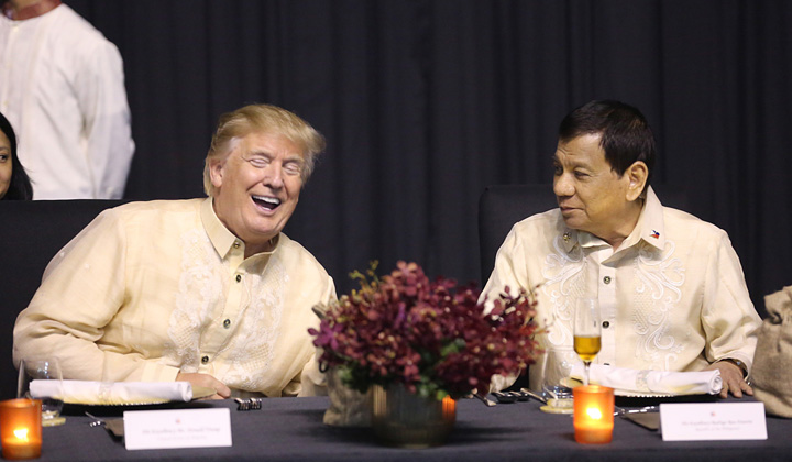 "trump si duterte Donald s a vazut cu Trump de Filipine: ""Tu esti lumina lumii mele"""