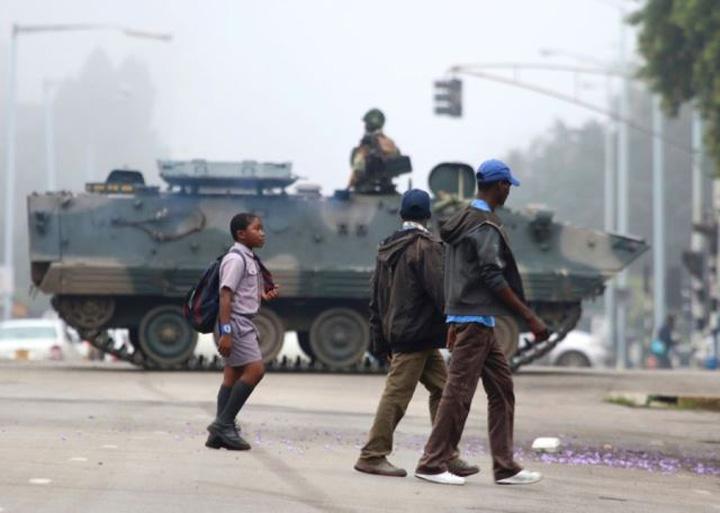 trupe Mugabe, spre Targoviste