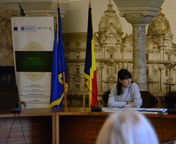Daniela Popa Viceprimar Sector 1 350x287 Conferinta la Primaria Sectorului 1 vizand trei proiecte cu finantare europeana
