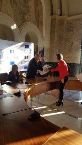 Foto premiere Universiada 2 169x300 Primarul Dan Tudorache i a premiat pe sportivii romani medaliati la Universiada de Vara 2017