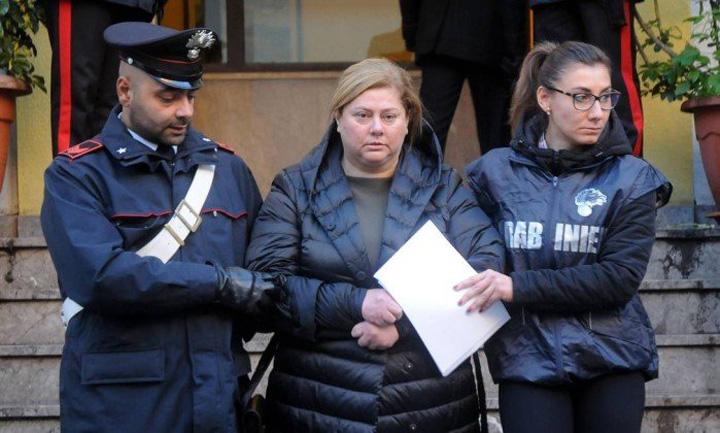 Maria Angela Di Trapani jpg O femeie a preluat conducerea  Mafiei  Siciliene