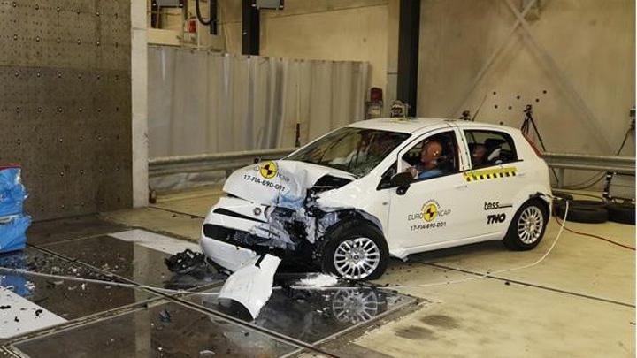 Punto Euroncap Cea mai periculoasa masina