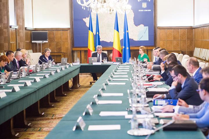 Sedinta de Guvern cabinet Mihai Tudose 2017 Statul paralel, buget diferentiat