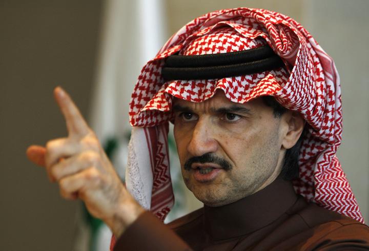 al walid Printii sauditi, eliberati pe miliarde