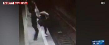 atac 350x145 Ce spune tatal tinerei care a reusit sa scape de atacatoarea de la metrou: E posibil asa ceva?