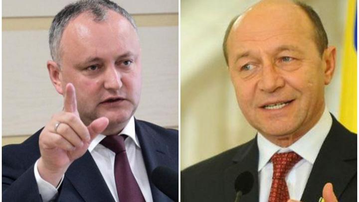 basescu dodon Basescu si a luat mana de pe Romania